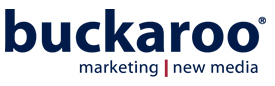 Buckaroo Marketing | New Media Retina Logo