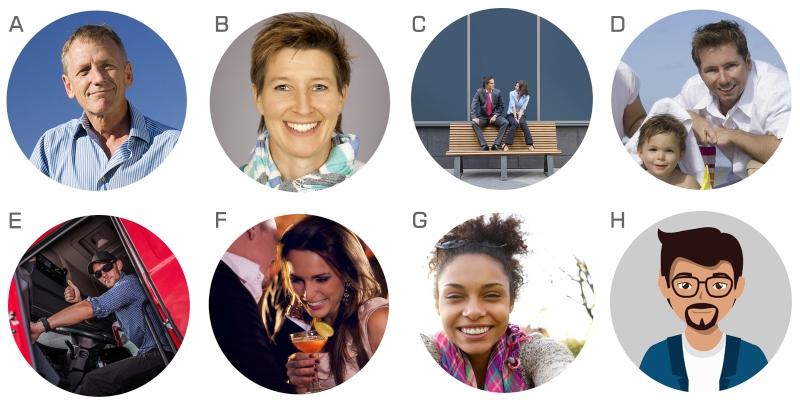 Buckaroo Marketing - Headshot Collage