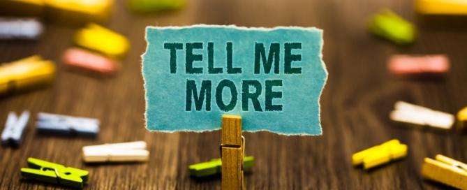 Buckaroo Marketing - Tell Me More